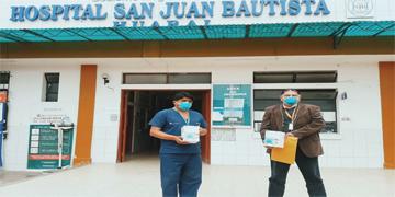 """NOTA 79 - """"ONG SOCIOS EN SALUD"""" ASUME COMPROMISO DE DONAR VENTILADORES MECÁNICOS DE TRANSPORTE AL HOSPITAL DE HUARAL"""