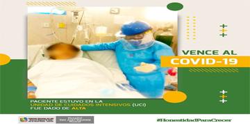 NOTA 80 - PACIENTE ESTUVO EN LA UCI DEL HOSPITAL HUARAL FUE DADO DE ALTA