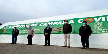 NOTA 81 - GOBERNADOR REGIONAL LLEGA PARA INSPECCIONAR EL CENTRO DE AISLAMIENTO PARA PACIENTES COVID-19 EN LA PROVINCIA DE HUARAL
