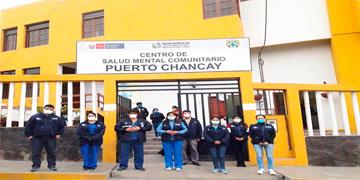 NOTA 102-CENTRO DE SALUD MENTAL COMUNITARIO DE PUERTO- CHANCAY YA ESTÁ AL SERVICIO DE LA POBLACIÓN.