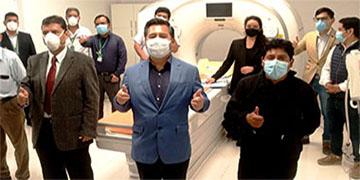 NOTA 122-RECEPCIÓN, INSTALACIÓN Y PRUEBAS DE TOMÓGRAFO COMPUTARIZADO MULTICORTE DEL HOSPITAL DE HUARAL