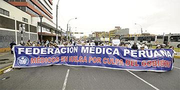NOTA 010-COMUNICADO: Sobre la HUELGA NACIONAL INDEFINIDA CONVOCADA POR LA FEDERACIÓN MEDICA.