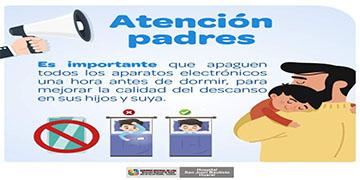 NOTA 002-LA IMPORTANCIA DE APAGAR LOS APARATOS ELECTRONICOS A LA HORA DE DORMIR
