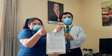 NOTA 026-DESIGNAN NUEVO JEFE DEL DEPARTAMENTO DE MEDICINA DEL HOSPITAL DE HUARAL