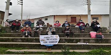 NOTA 031-POBLADORES DEL DISTRITO DE PACARAOS PARTICIPAN DE LAS SESIONES EDUCATIVAS PARA LA PREVENCIÓN DEL VIH-SIDA.