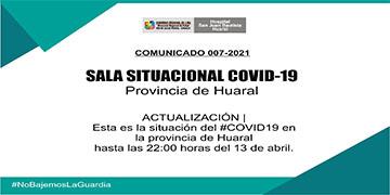 NOTA 037-COMUNICADO 007-2021 CASOS CONFIRMADOS POR CORONAVIRUS
