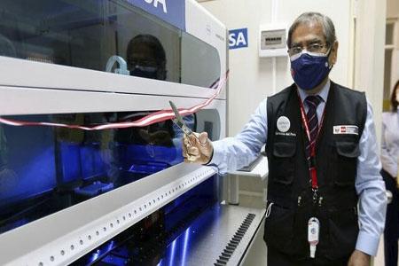 NOTA 041-Ministro de Salud inauguró el primer laboratorio molecular para Virus del Papiloma Humano en el Perú.