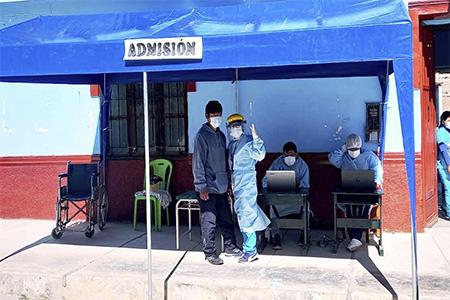 NOTA 046-Se inició la vacunación COVID-19 a los Adultos Mayores en el distrito de Pacaraos