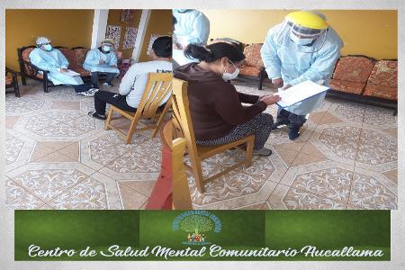 NOTA 049-Centro de Salud Mental Comunitario Aucallama INFORMA