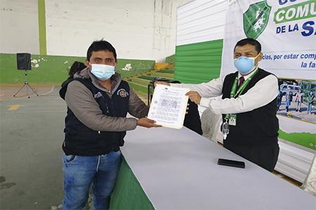 NOTA 053-AUTORIDADES RECONOCEN Y RESALTAN LA LABOR DE LOS GUARDIANES COMUNITARIOS DE LA SALUD DEL DISTRITO DE HUARAL