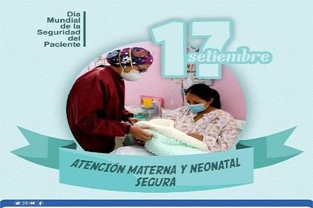NOTA 075: Viernes 17 de setiembre, conmemoramos el Día Mundial de la Seguridad del Paciente.
