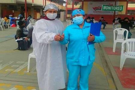 NOTA 076: La jornada de vacunación siguen imparables en la región Lima